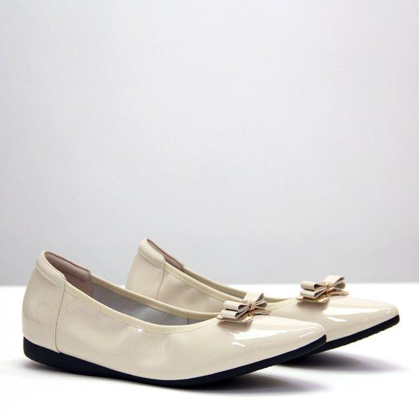 Charlotte Ribbon (Patent Cream White)